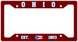 Ohio Est. 1803 Plate Frame