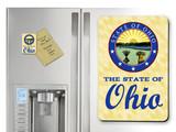 State of Ohio Seal Ohio Magnet
