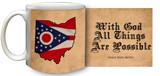 State of Ohio Motto Coffee Mug