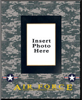 """Air Force"" Picture Frame Vertical"