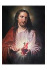 Austrian Sacred Heart Print