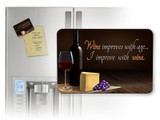 Wine Improves with Age Magnet