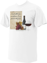 I Cook with Wine T-Shirt