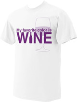 My Favorite Color is Wine T-Shirt