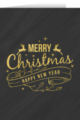 Merry Christmas and Happy New Year Cards (box of 25)