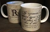 Leonardo da Vinci Science of Coffee Quote Mug