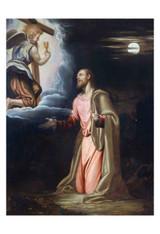 Christ in the Garden by Simone Peterzano Print