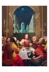 Last Supper at Moonrise Print