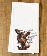 St. Michael the Archangel Tea Towel