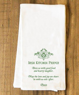 Irish Kitchen Prayer Tea Towel