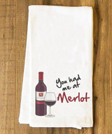 You had me at Merlot Tea Towel