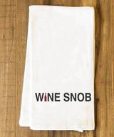 Wine Snob Tea Towel