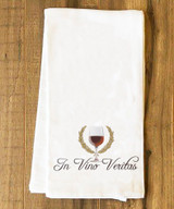 In Vino Veritas Tea Towel