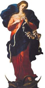 Mary Undoer of Knots Lifesize Standee