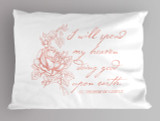St. Therese Quote Pillowcase