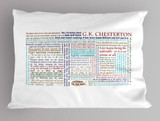 G.K. Chesterton Quote Pillowcase