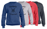 Catholic Warrior Defender of the Faith Crewneck Sweatshirt