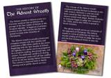 History of the Advent Wreath Faith Explained Card - Pack of 50