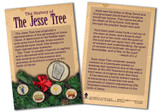 History of the Jesse Tree Explained Card - Pack of 50