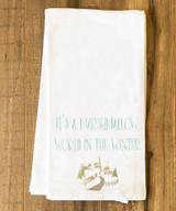 Marshmallow World Tea Towel