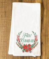 Feliz Navidad Tea Towel