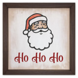 Ho Ho Ho Rustic Framed Quote