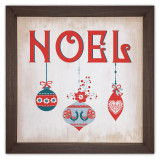 Noel Rustic Framed Quote