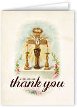 Vintage Altar A Very Special Thank You Greeting Card