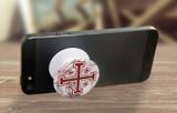 Cross of Jerusalem Pop-Up Phone Holder
