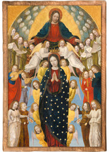 """""""Assumption of the Virgin"""" by Bergonone Cloister Collection Catholic Icon Plaque"""