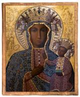 Black Madonna of Czestochowa Cloister Collection Catholic Icon Plaque