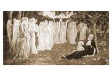 The Sleep of the Virgin by Élisabeth Sonrel Print