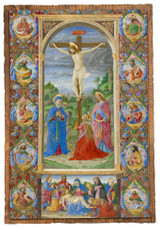 The Crucifixion with Prophets by Giuliano Amadei Cloister Collection Catholic Icon Plaque