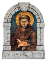 St. Francis Outdoor Garden Shrine