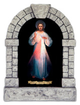 Original Vilnius Divine Mercy Outdoor Garden Shrine