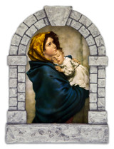 Madonna of the Streets Outdoor Garden Shrine