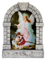 Guardian Angel Outdoor Garden Shrine