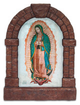 Our Lady of Guadalupe Outdoor Garden Shrine