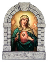 Immaculate Heart Outdoor Garden Shrine