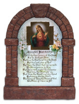 Sacred Heart House Blessing Outdoor  Garden Shrine