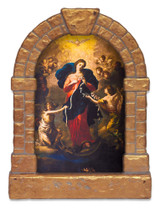 Mary Undoer of Knots Outdoor Garden Shrine