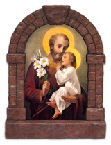 St. Joseph Outdoor Garden Shrine