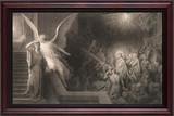 The Dream of Pilate's Wife - Cherry Framed Art