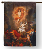 The Resurrection by Coypel Outdoor House Flag