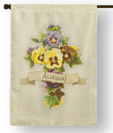 Alleluia Outdoor House Flag