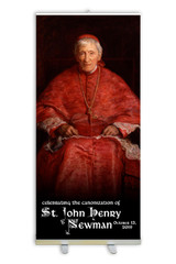 St. John Henry Newman Banner Stand