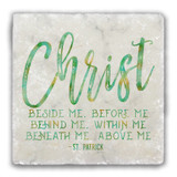 """Christ"" Tumbled Stone Coaster"