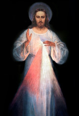 Divine Mercy Vilnius Original Indoor Outdoor Aluminum Print