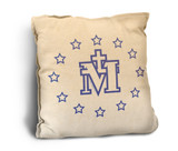 Miraculous Medal Rustic Pillow