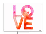 LOVE with Baby Yard Sign